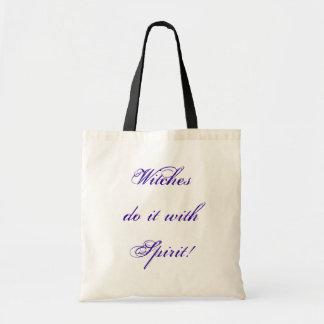 Humor para el pagan y la comunidad wiccan bolsa tela barata