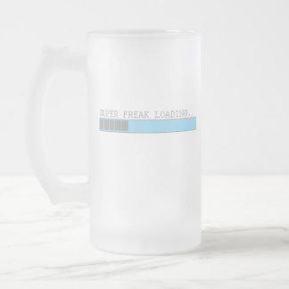 Humor para hombre divertido de la barra del taza de cristal