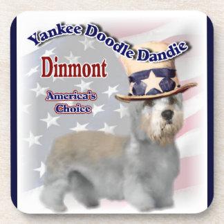 Humor político de Dandie Dinmont Terrier Posavasos