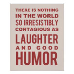 Humor Quote, Typography Poster