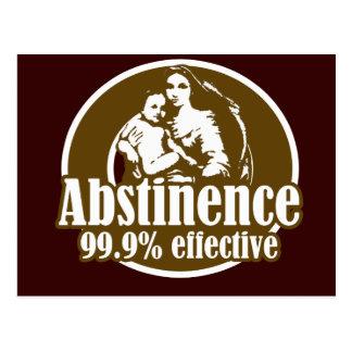 Humor religioso eficaz de la abstinencia el 99% postal
