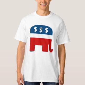 Humor republicano de la avaricia (2) Politiclothes Remera