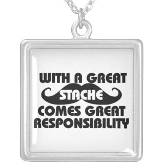 Humor Silver Plated Necklace