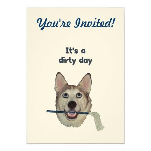 Humor sucio del pis del perro del día comunicados