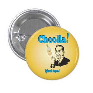 Humor Viejo-Timey del anagrama del alcohol de Pin Redondo De 1 Pulgada