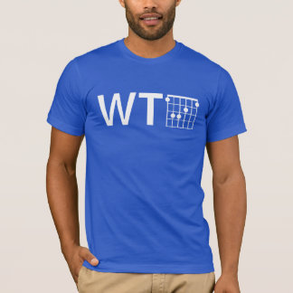 Humor WTF with Guitar F Chord T-Shirt