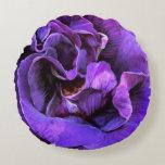 Humores color de rosa - almohada del decorador de cojín redondo
