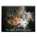 Humores de un ángel gruñón calendario de pared
