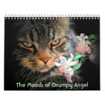 Humores de un ángel gruñón calendarios de pared