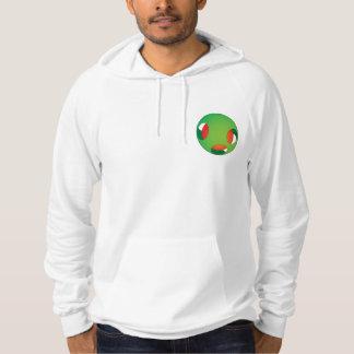 Humoristic Illusion Hooded Pullover