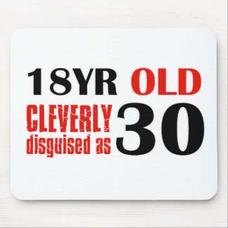 Humorous 30 year old birthday gifts mouse pad