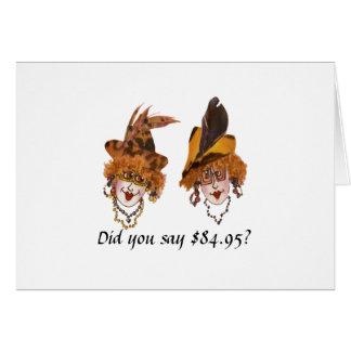 Humorous 85th Birthday for Women Card