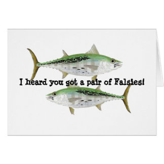 Humorous Albacore Card