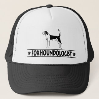 Humorous AMERICAN FOXHOUND Trucker Hat