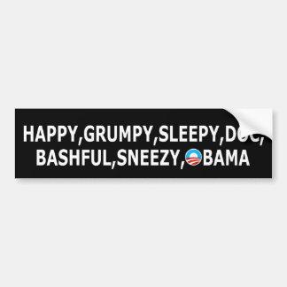 Humorous anti Obama Bumper Sticker