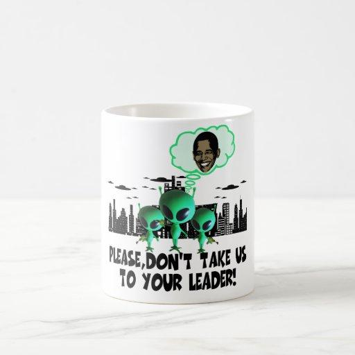 Humorous anti Obama Classic White Coffee Mug