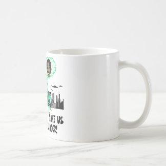 Humorous anti Obama Coffee Mug