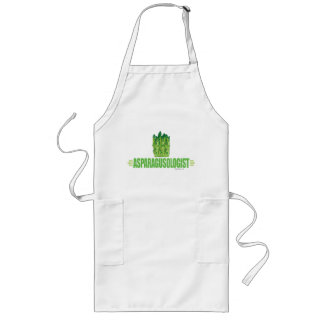 Humorous Asparagus Lover Long Apron
