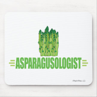 Humorous Asparagus Lover Mouse Pad