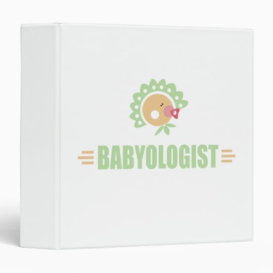 Humorous Baby 3 Ring Binder