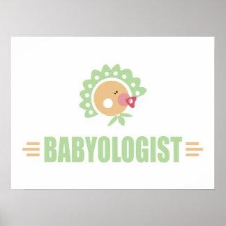 Humorous Baby Poster