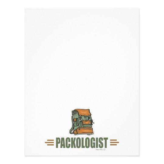 Humorous Backpacking Flyer