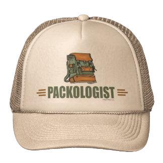 Humorous Backpacking Mesh Hats