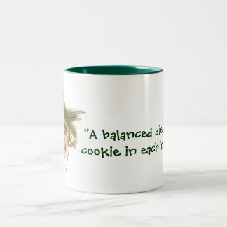 Humorous Balanced Diet Mug