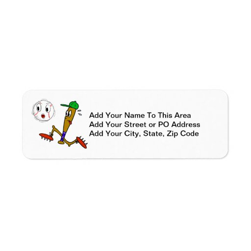 Humorous Baseball T-shirts and Gifts Label
