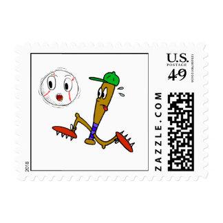 Humorous Baseball T-shirts and Gifts Postage Stamp