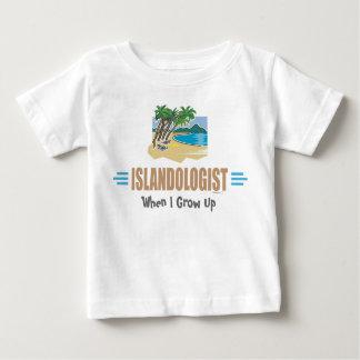 Humorous Beach Island Baby T-Shirt