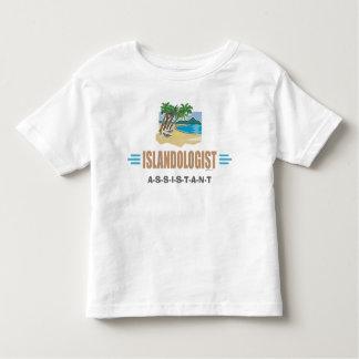 Humorous Beach Island Toddler T-shirt