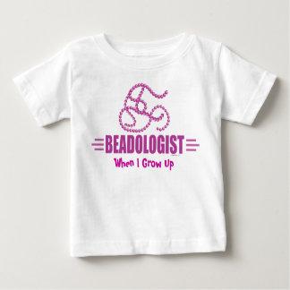 Humorous Beading Baby T-Shirt