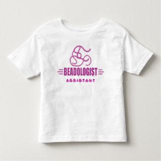 Humorous Beading Toddler T-shirt