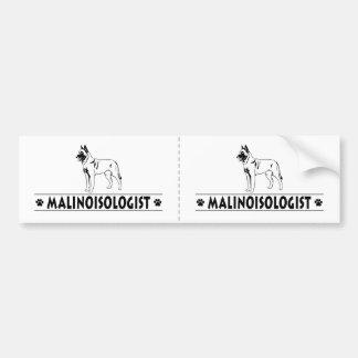 Humorous Belgian Malinois Bumper Stickers