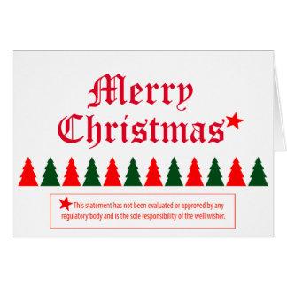 Humorous Big Brother Christmas Card