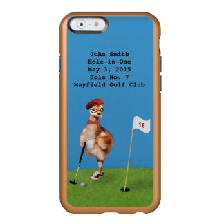 Humorous Bird Playing Golf, Hole-in-One Incipio Feather Shine iPhone 6 Case