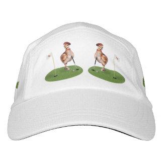 Humorous Bird Playing Golf
