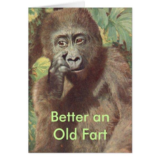 Humorous Birthday Card