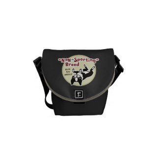 Humorous Boston Terrier - Nonsporting Breed Messenger Bag