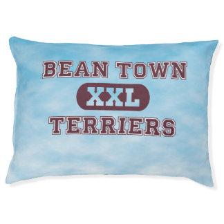 Humorous Boston Terrier Sports Team Dog Bed