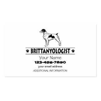 Humorous Brittany Business Card