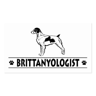 Humorous Brittany Business Card Template