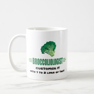 Humorous Broccoli Coffee Mug