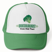 Humorous Broccoli Trucker Hat
