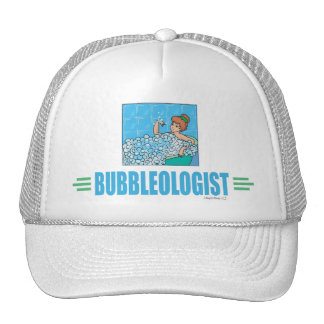 Humorous Bubble Bath Mesh Hat