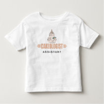 Humorous Cake Decorating Toddler T-shirt