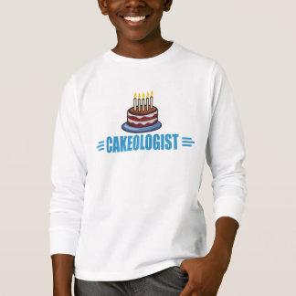 Humorous Cakeologist, Funny Cake T-Shirt