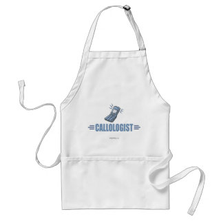Humorous Cell Phone Adult Apron