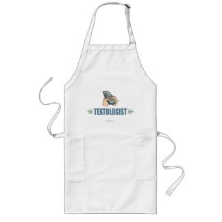 Humorous Cell Phone Texting Apron